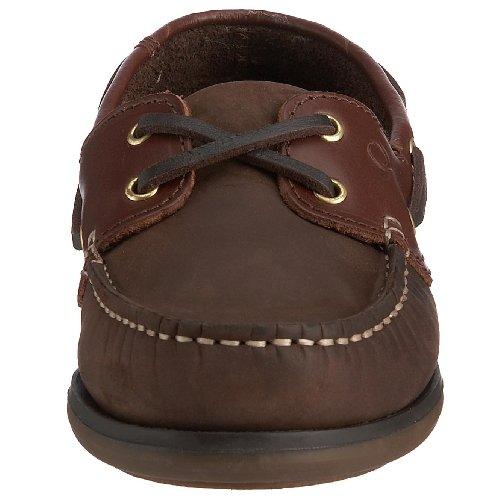 Quayside Clipper, Chaussures bateau homme Marron (Chêne / châtaigne)