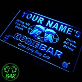 p-tm Name Personalized Custom Home Bar Beer Neon Sign Enseigne Lumineuse