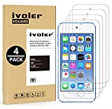 iVoler [Pack de 4] Verre Trempé pour Apple iPod Touch 7/6 / 5 (7e, 6e et 5e...