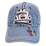 BRISA VW Collection Baseball Cap mit VW Käfer Motiv (Jeansblau)