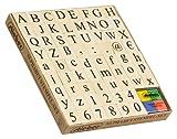 stieber Alphabet-Stempelset 68 Stempel + 1 Kissen (4 farbig)
