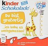 kinder Schokolade Vorratspack, 20er Pack (20 x 50 g Packung)