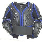 Quad Motocross Körperpanzer Motorrad Motorradjacke Motorrad KINDER Protekt Körperpanzer Motorrad 10 Jahre Blau