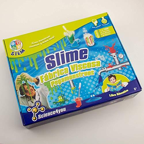 Imagen 9 de Science4you Fábrica de los pegamonstruos - Slime - Juguete científico y educativo