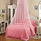 Baby : Elegant Lace Insect Bed Canopy Netting Curtain Round Dome Mosquito Net Bedding