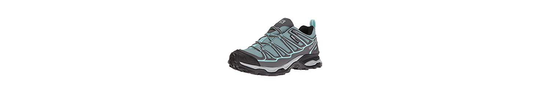Salomon X Ultra Prime CS WP W, Zapatillas de Deporte Exterior para Mujer, Azul (Artic/Magnet/Aruba Blue), 36 EU -