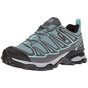 51AJA3yoAfL. SS300  - SALOMON Women's Hiking Shoe