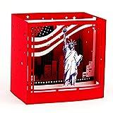 """Paper Spiritz Grußkarten """"Statue of Liberty"""" Glückwunschkarte Kommunion 3D Pop Up Karten Taufe Geburtstagskarten mit Umschlag"""