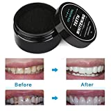 Ouneed® Zahnaufhellung,2017 Teeth Whitening Powder Natural Organic Activated Charcoal Bamboo Toothpaste