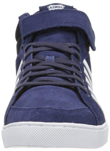 K-Swiss ADCOURT '72 SO MID STRAP SDE, Sneaker a collo alto uomo Blu (Blau (Mood Indigo/White/Black))