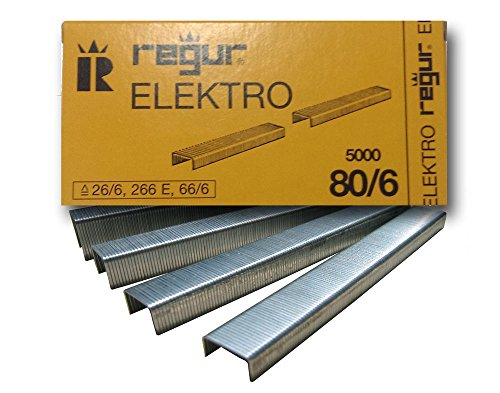 Preisvergleich Produktbild REGUR 80 Heftklammern 80/6 mm, 5.000 Stück