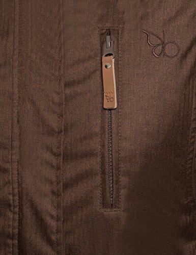 Berydale Damen Parka Jacke wasser- und winddicht, Braun (Braun), 34 (Herstellergröße: XS) - 4