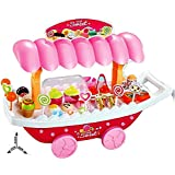 Sweet Shopping Cart Luxury 37 PCS With Led Lights & Music Learning & Educational Toy - Multi Color