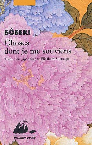 Choses dont je me souviens par Sôseki
