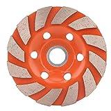 Disco de molienda de la rueda de la taza de molienda del segmento de diamante engrosado de Liukouu para la piedra concreta de mármol(100mm)
