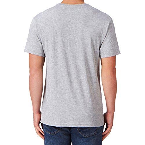 Herren T-Shirt Hurley Ace Buchan Instragram T-Shirt Grau