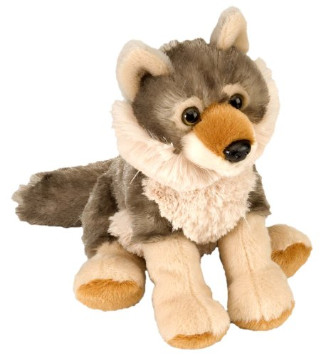 "Wild Republic Wild Republic Wolf CK Mini 8"" Animal Plush"