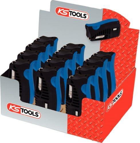 KS Tools Tools Tools Chrome Plus 918.2855D - Espositore di 12 astucci con mini portainserti a cricchetto, per inserti 1 4  per viti TX con foro | Grande Svendita  | Design affascinante  | Superficie facile da pulire  | Italia  | Bella apparenza  | Elegante e div 2c2c0c