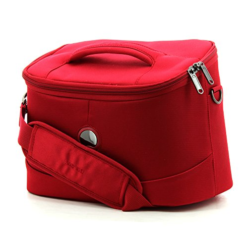 delsey-luggage-cosmetic-cases-25-cm-red