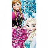Kids Licensing–wd17862–Strandtuch–Frozen Anna und ELSA