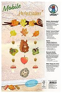 Ursus 21470099F Kit de Manualidades para niños - Kits de Manualidades para niños (Kit de Manualidades para niños, Cartón, Cords, Pegatinas, Niño/niña, Marrón, Naranja, Papel, 210 mm)