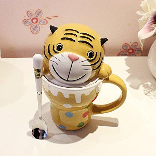 Dana Carrie Schöne's Animal Wasser Schüssel Keramik Tasse für Tasse Paar Kinder Milch Cup C