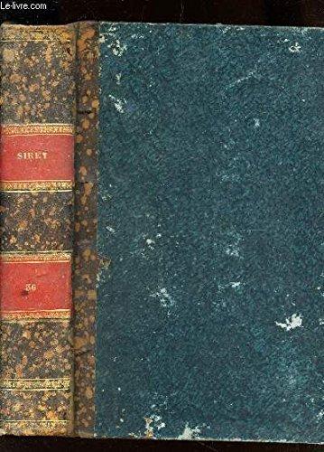 RECUEIL GENERAL DES LOIS ET DES ARRETS / TOME XXXVI (AN 1836) / Iere PARTIE : JURISPRUDENCE DE LA COUR DE CASSATION / IIeme PARTIE : LOIS ET DECISIONS DIVERSES