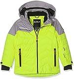 CMP Jungen Skijacke Jacke, Lime Green, 176