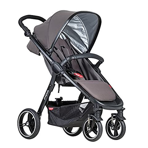 phil&teds Smart Buggy Pushchair, Graphite