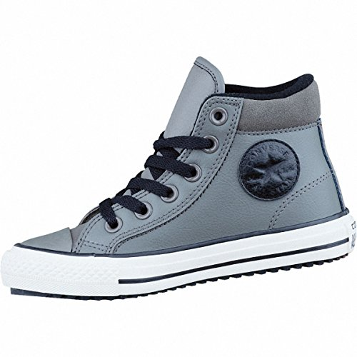 Converse Chucks Kinder Winter Stiefel 654310C CT AS Boot PC Grau Charcoal Black Egret, Groesse:32 EU / 13.5 UK / 1 US / 19.5 cm