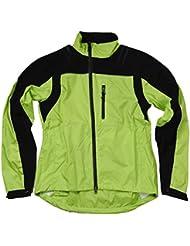 Multifunktions Rad Regenjacke für Damen und Herren in Signalfarben und verschiedenen Größen
