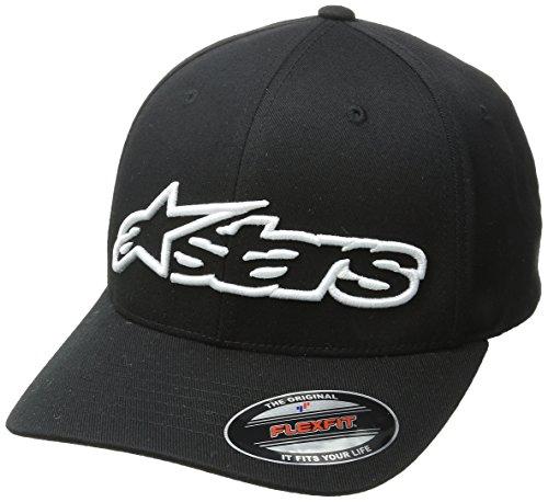 Alpinestars Herren Hat/Beanie BLAZE FLEXFIT, Black/White, S/M, 1039-81005