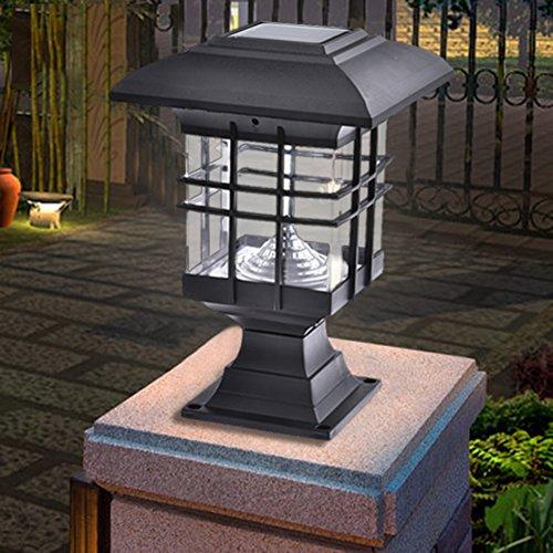 Solar Säule Licht Wasserdicht Solar Post Cap Lights für Outdoor Garden Yard Durchgang, Lampen 2pcs