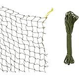Trixie 44291 beschermnet, versterkt met draad, 2 × 1,5 m, olijfgroen