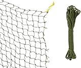 Trixie 44291 Schutznetz, drahtverstärkt 2 × 1,5 m, oliv-grün