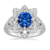 Sapphire Ring Gold 14k