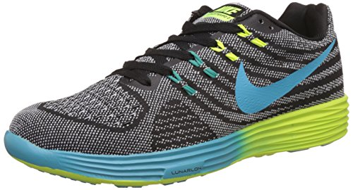 Nike Men's Lunarglide 6 Black Running Shoes - 7.5 UK/India (42 EU)(8.5 US)(749171-011)  available at amazon for Rs.4998