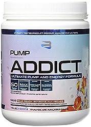 SPORTS NUTRITION SOURCE Believe Pump Addict Pink Lemonade, Vor dem Training Trainingsbooster für extremen Pump, geschärften Fokus & andauernde Power, 50 portionen, 1er Pack (1 x 550 g)