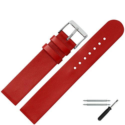 uhrenarmband-18mm-leder-rot-glatt-klassisches-ersatzband-aus-rindsleder-fur-uhren-zeitloses-lederban
