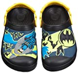 crocs Kids Batman Custom Clog 12745-001-110, Jungen Clogs & Pantoletten, Schwarz (Black 001), EU 22-24 (UK C6-7)