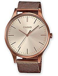 Casio Femmes Analogique Quartz Montre avec Bracelet en Acier Inoxydable LTP-E140R-9AEF