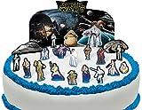 Cakeshop Vorgeschnittene und Essbare Star Wars Szene Kuchen Topper (Tortenaufleger, Bedruckte Oblaten, Oblatenaufleger)