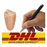 Sans fil Bluetooth Pen caché Petite Mini Invisibl Covert Spy Tricher Exam Oreillette