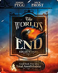 The World's End - Limited Edition Steelbook [Blu-ray] [Region Free]