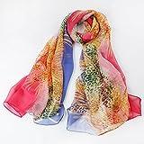 Châle en soie pure protection soleil, femme printemps, automne nouveau foulard en soie, soie de mûrier femelle, climatiseur, écharpe à double but, treize
