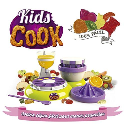 Goliath - Kids Cook Chuches und Bärchen aus Gummi, grün/braun/lila (82288)
