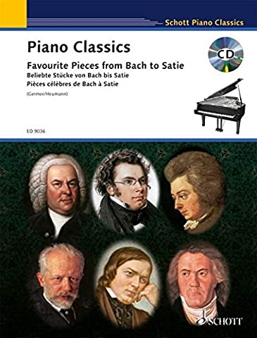 Piano Classics: Favorite Pieces from Bach to Satie