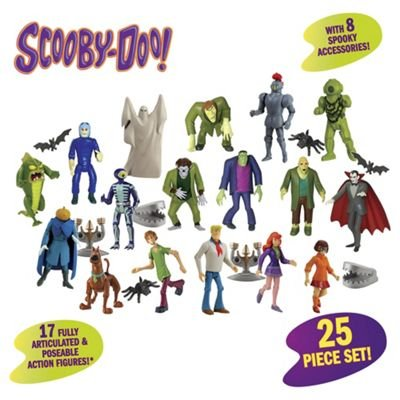 Scooby Doo Mystery Crew & Monster 25 Stück Figuren & Zubehör Super Pack (Spielzeug Scooby Doo-monster)