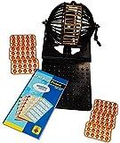 KSS Großes Bingo Spiel Bingotrommel + 600 Bingokarten Bingo Spiel Set Bingospiel
