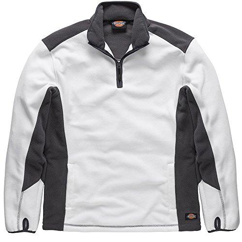 Dickies Fleece-Pullover, 1 Stück, 2XL, weiß/grau, JW7011 WGYXXL Dickies Fleece Pullover